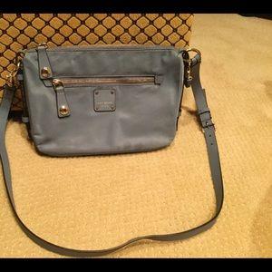 Henri Bendel blue crossbody bag